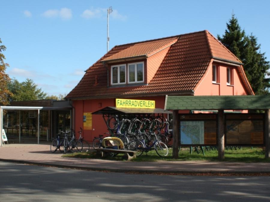 Fahrradverleih Federow Müritzurlaub